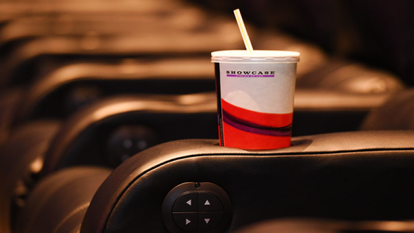 Drink Holder at Showcase Cinemas