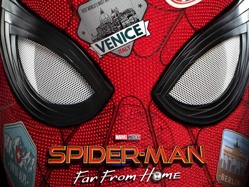 Image result for spider-man far from home quad poster